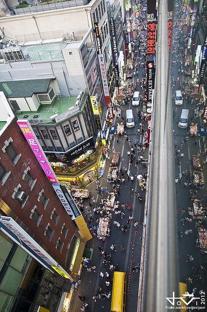 Seoul Shopping: Myeongdong by jovijovijovi on Flickr.