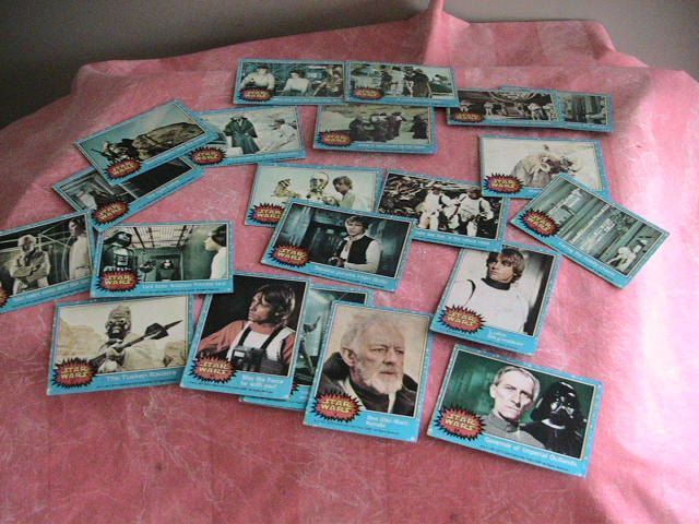 Star Wars Trading Cards Vintage Jedi Luke Skywalker Hans Solo Princess Lia Spielberg Lucas Holiday Gift by AntiqueDiscoveries on Etsy