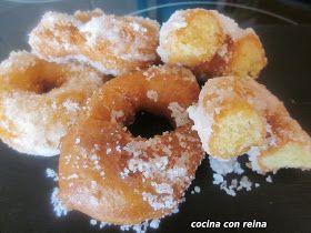 Roscos fritos de naranja       He ido probando varias masas de roscos hasta dar con los que mas nos gustaban,no sé de donde he sacad...