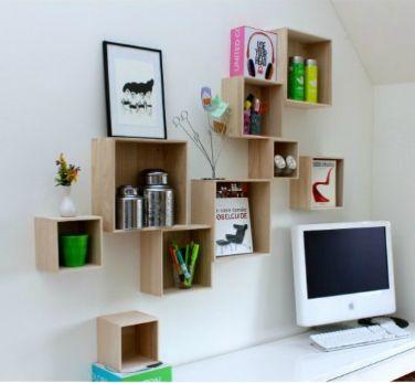 Billige trækasser til at hænge op på væggen   kan købes i tina ...
