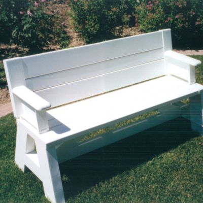 Flip top bench table with arms tops woods and benches for Flip top picnic table plans