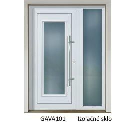 GAVA 101 Biela vchodové dvere