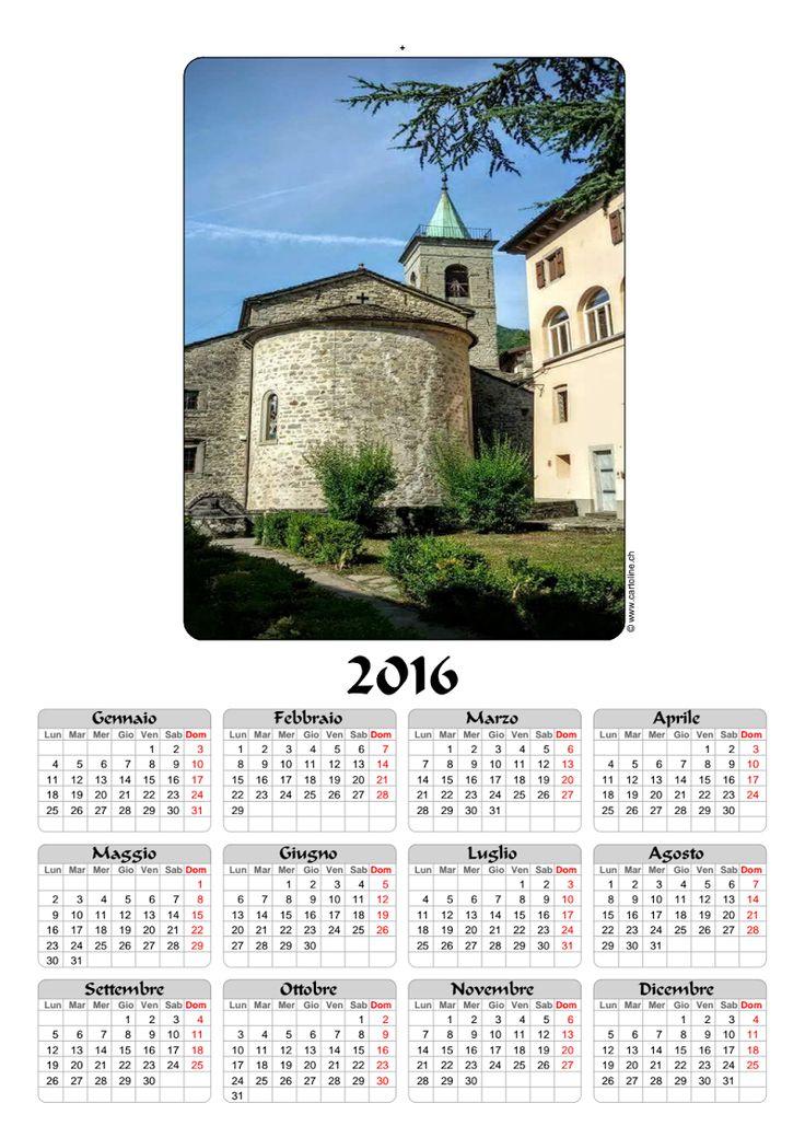Calendario Fiumalbo e dintorni 2016