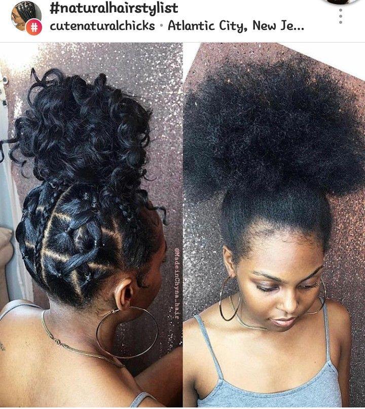 Idea By Jc Cureton On Hair And Beauty Natural Hair Updo