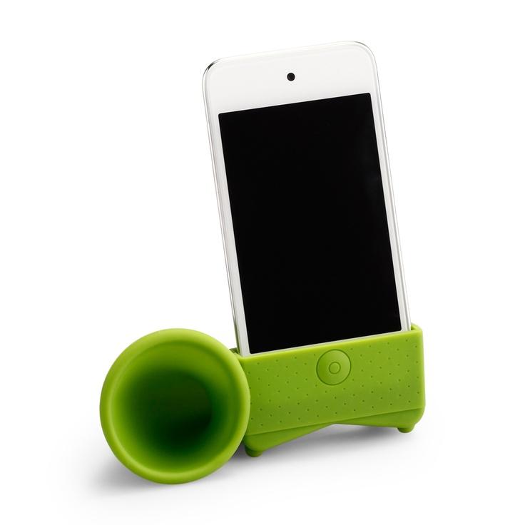 Bullhorn Speaker: Iphone 10, Gift Guide, Iphone Speakers, Gifts Ideas, Iphone Bullhorn, Battery Speakers, Bullhorn Speakers, Gifts Guide, Cwondercom Bullhorn
