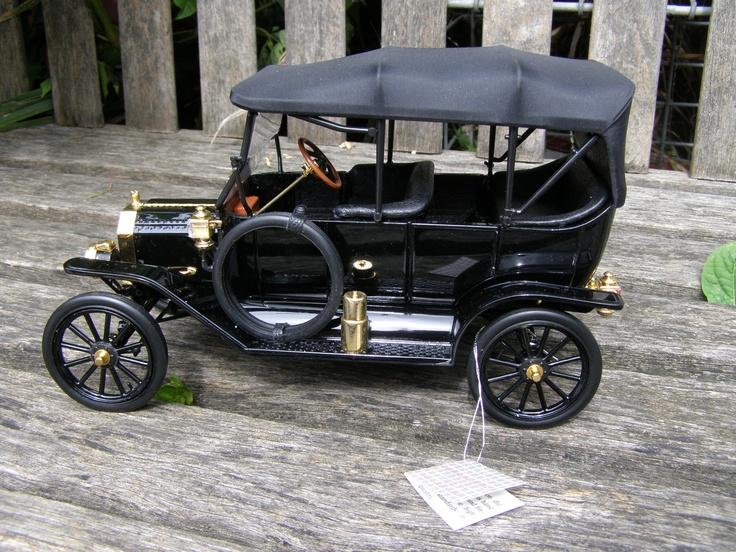 Franklin Mint 1913 Model T Ford Car Metal Die Cast 1 16 ...