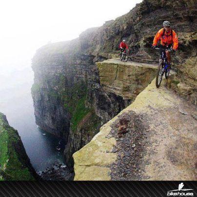 ¡Lo extremo es para #ciclistas! ¡Nada es imposible, sólo necesitas querer hacerlo!