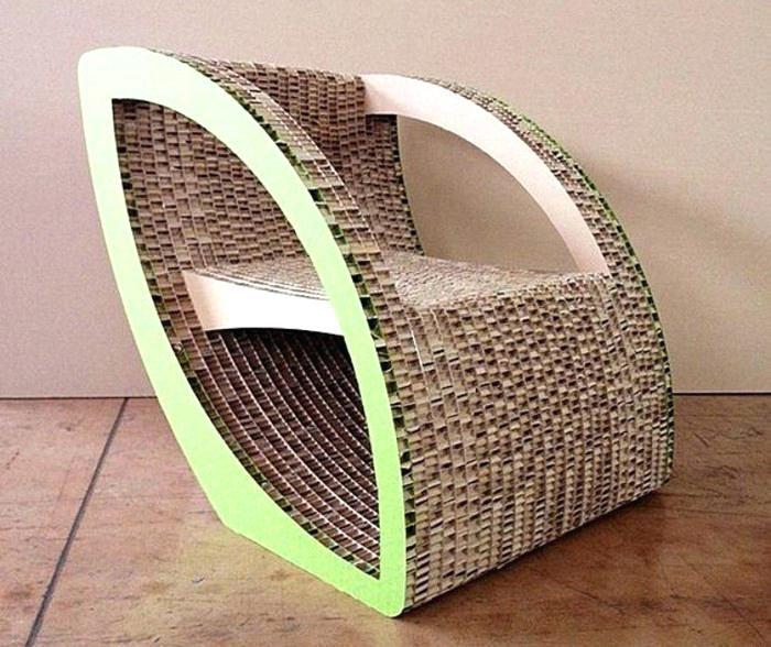 Meuble En Carton Design Fauteuil En Carton Tres Chic Idee Comment Fabriquer Fabriquer Meuble Carton Desi Fauteuil En Carton Mobilier En Carton Meuble En Carton