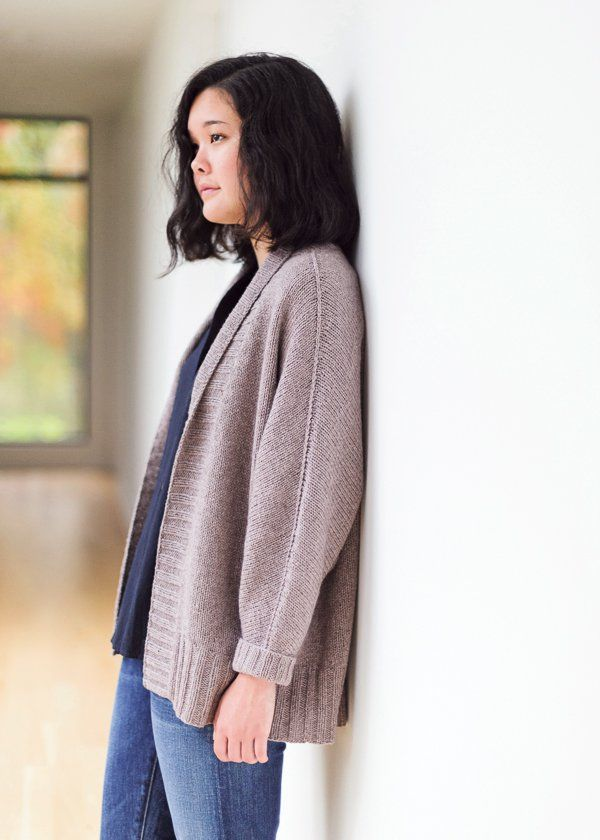 Olson  | Cardigan Knitting Pattern by Julie Hoover
