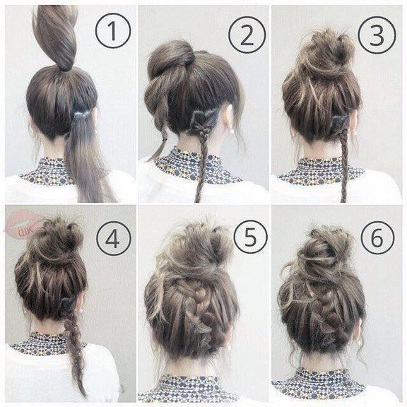 50 easy and fast hairstyles for the school – Прически