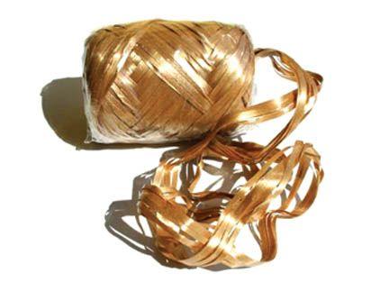 DÁRKOVÉ STUHY | LÝKOVÉ | Lýková dárková stuha zlatá č. 18 | Vše pro balení dárků