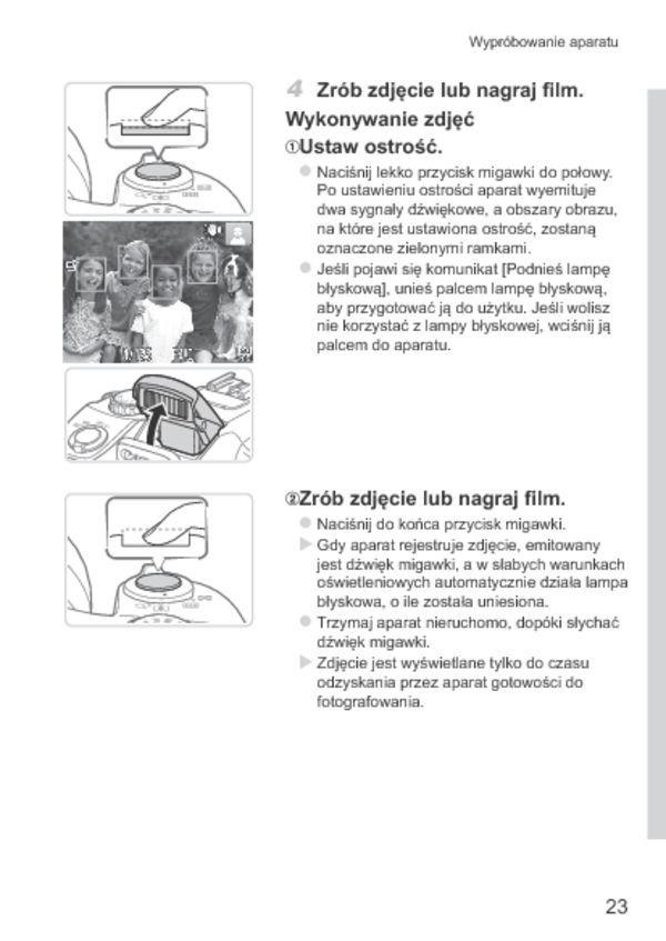 Instrukcja po polsku Canon PowerShot SX50 HS