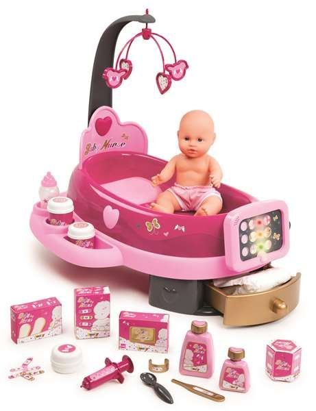 Smoby, Baby Nursery, Elekroniskt skötcenter med babydocka
