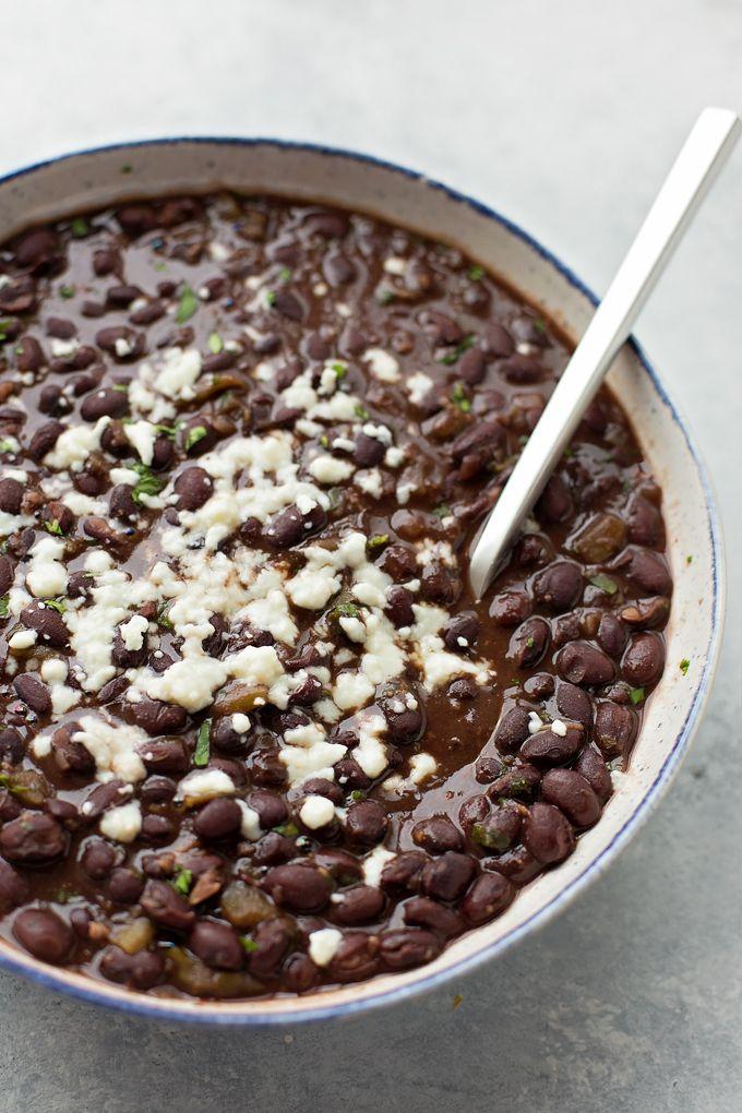 Easy Restaurant Style Black Beans   lifemadesimplebakes.com