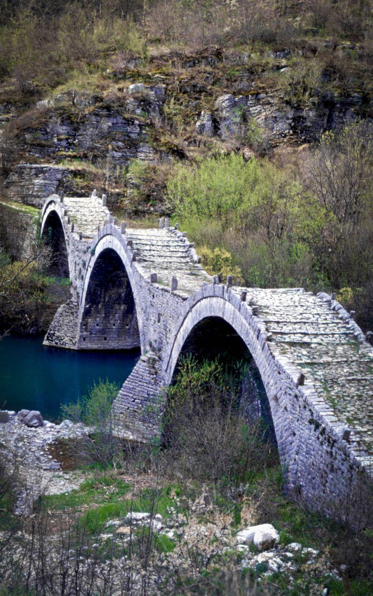 Triple Bridge, Zagoria..Greece (Epirus)