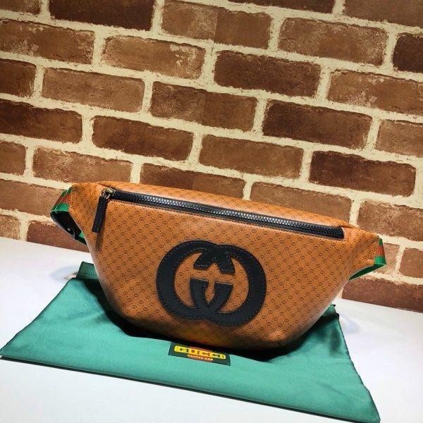 263da73f8 Gucci-Dapper Dan belt bag 536416 light-brown   Belt Bags   Bags ...