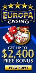 Online gambling has been taken to another level with Europa Casino online. Our games include blackjack, roulette, slots machines, baccarat and many more.