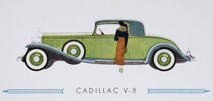General Motors Cadillac V8 Coupe