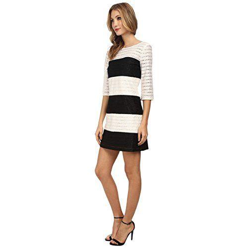 (ジェシカシンプソン) Jessica Simpson レディース ドレス カジュアルドレス Color Block Lace Shift Dress JS5M7050 並行輸入品  新品【取り寄せ商品のため、お届けまでに2週間前後かかります。】 カラー:Black/Ivory カラー:ブラック