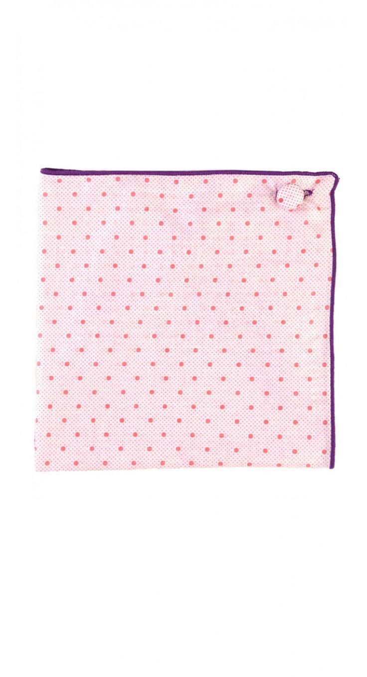 Piccadilly / Pink Pocket Square by Armstrong and Wilson.