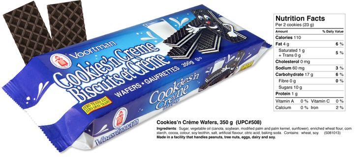 Cookies n' Crème Wafer   Voortman