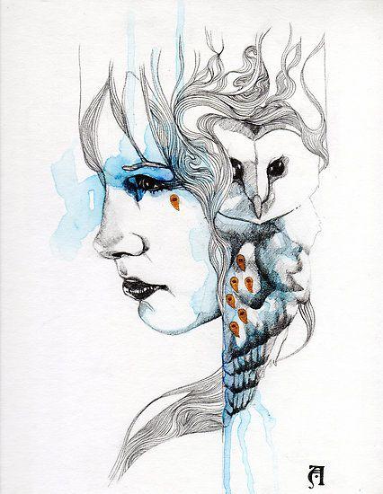 'Bleu' by Patricia Ariel