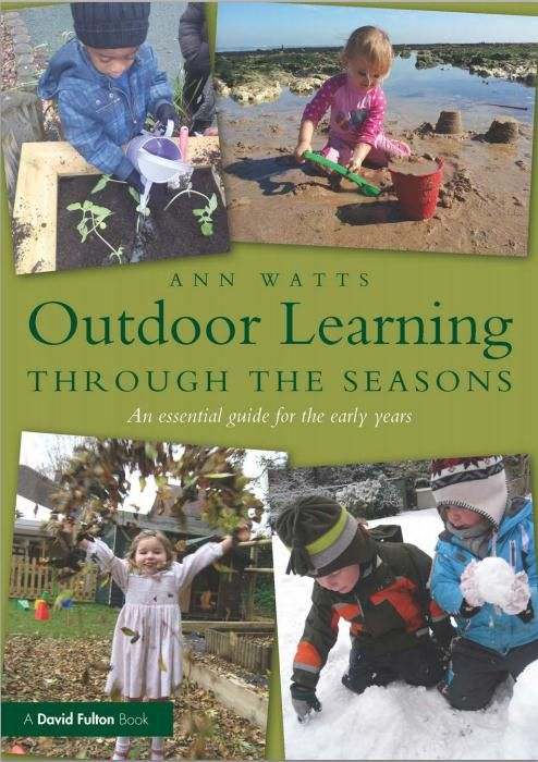 eBook: Outdoor Learning through the Seasons. Outdoor play experiences have a crucial role in young children's learning and development and should be a daily part of their lives. Click the book cover image to check out this online eBook now! Your DEC username and password is required. SWSi staff and students only. #children #outdoors #learning