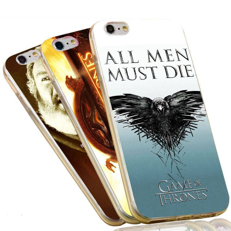 Jon Snow Stark Daenerys All Men Must Die The Game of Thrones Case For iPhone 5 5S SE 6 6S 7 Plus Soft TPU Cover - Direwolf Shop Direwolf Shop