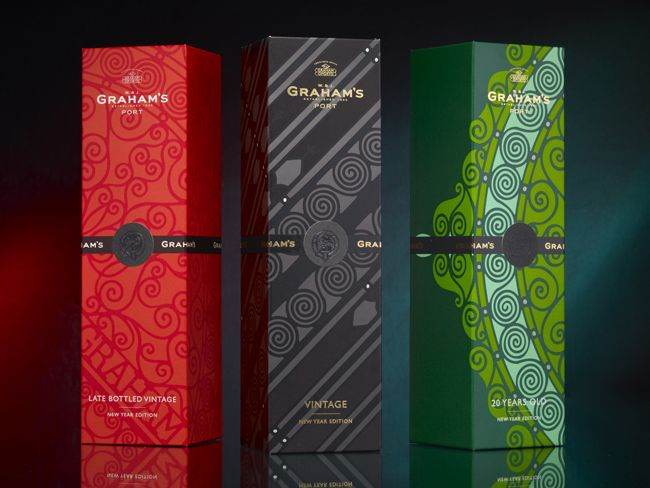 Packaging of the World: Creative Package Design Archive and Gallery: Graham's Asia New Year Edition