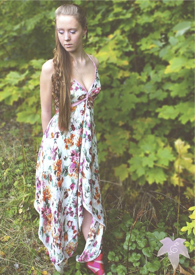 Beautiful Flower dress by Eva Vålberg Saugstad