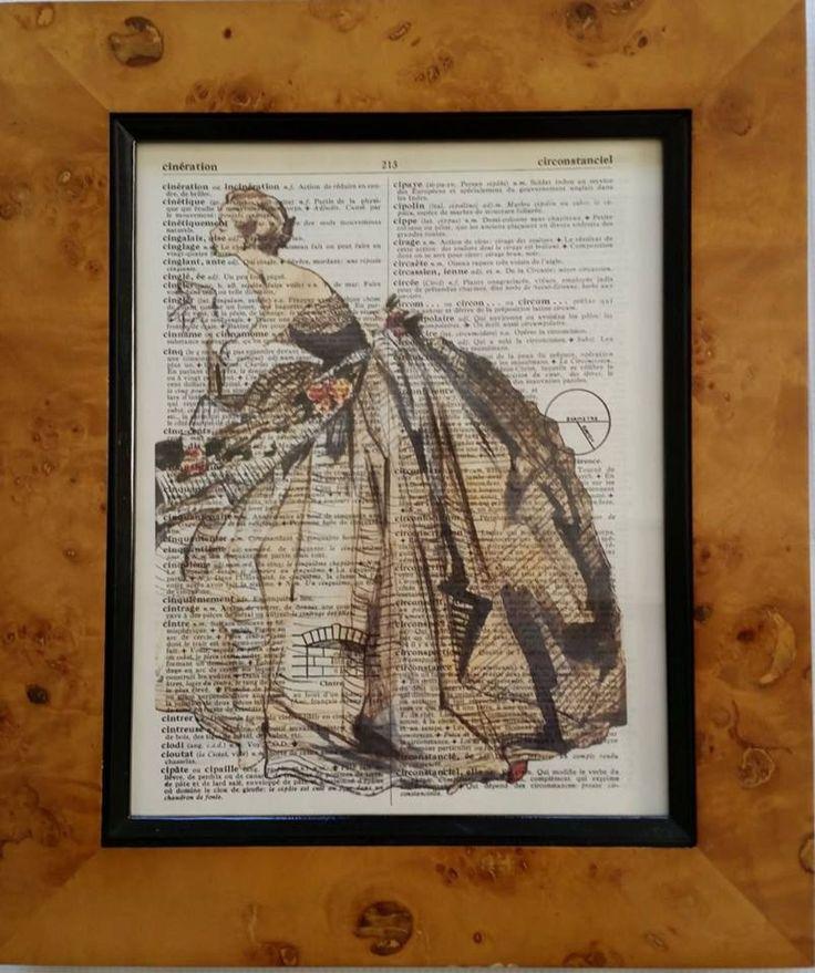 Lady by secondprints on Etsy