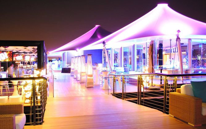 Sophisticated fusion in restaurant of Dubai that's part of the One&Only…