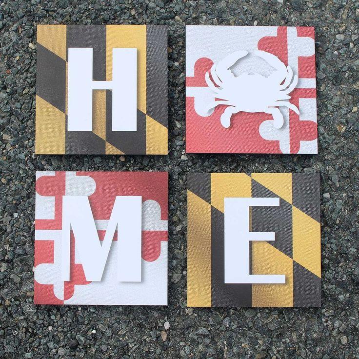 Maryland Map Coordinates%0A Maryland Home   Mosaic Art Prints