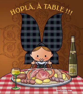 Gastronomie alsacienne !