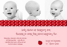 89 best ladybug birthday images on pinterest ladybugs lady bug cute invite wording ladybug birthday stopboris