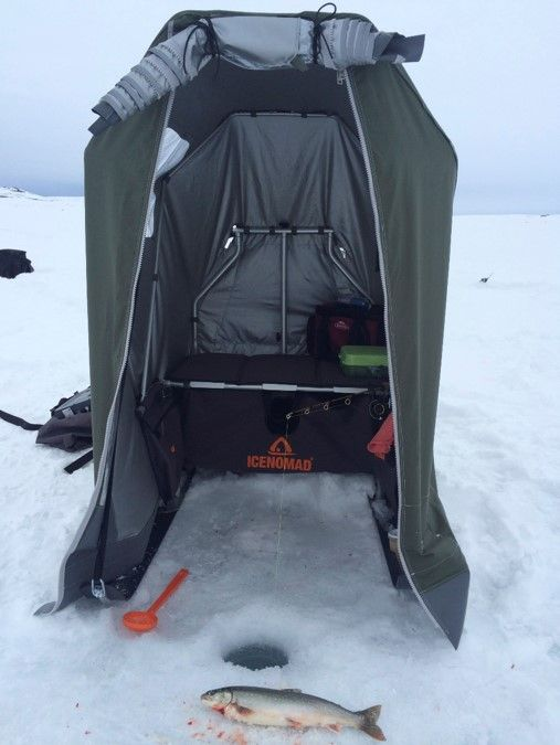 IceNomad fishing tent from Finland