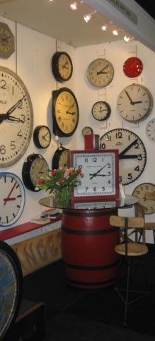 Display A Wall Of Clocks With Different Times From Around The World! Maybe you can have too many clocks.