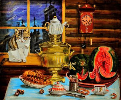 http://artistsandtea.blogspot.ru/2016/09/watermelon-and-tea.html Рауба Олег