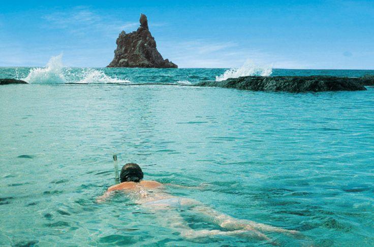 Mergulho livre na Praia do Atalaia, Fernando de Noronha (PE)