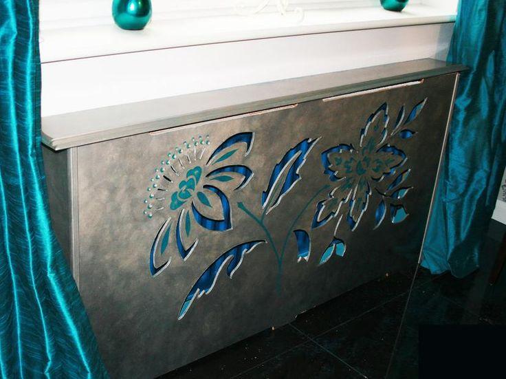 Art radiator covers
