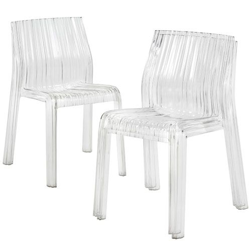 Kartell Frilly Plastic Chair by Patricia Urquiola