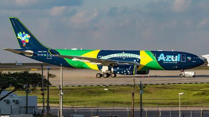 Brazilian - Airbus A330-200 (PR-AIV) Azul Airlines: Viracopos International Airport, Campinas, Brazil