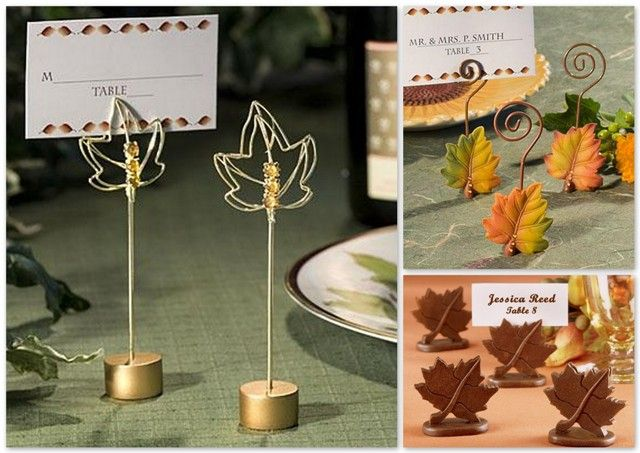 Fall wedding favor ideas source Places to have a fall wedding