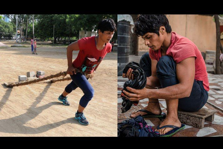 This is the tale of an Indian National Champion  A ready