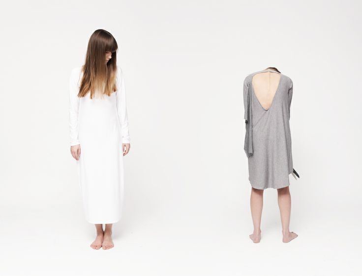"HI-END maxi dress | HI-END ""triangle"" tunic | www.hienddesign.com"