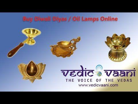 Diwali Diyas, Oil Lamps, Buy Hindu Puja Vessels Online