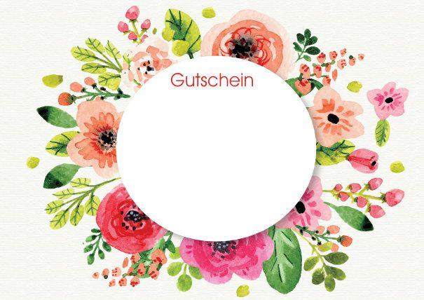 GUTSCHEIN-MUTTERTAG kostenlos erstellen und ausdrucken