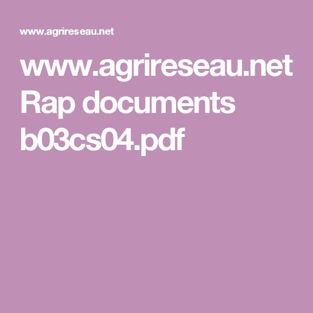 www.agrireseau.net Rap documents b03cs04.pdf