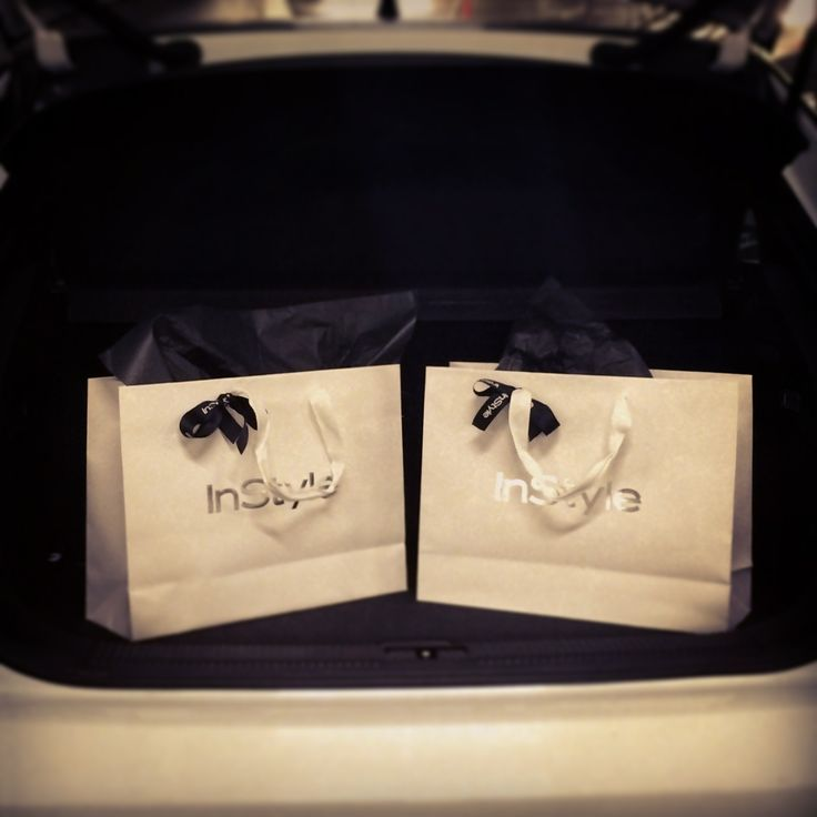 Precious cargo! The last couple of gift bags are on their way to the Hordern Pavilion in our Audi A1 for tonight's InStyle and Audi Women of Style awards
