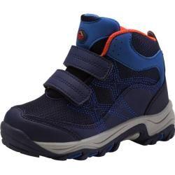 Mckinley Kinder Trekkingstiefel Trek-Schuh Baby Trek Jr., Größe 22 in Dunkelblau/Blau/Orange, Größe